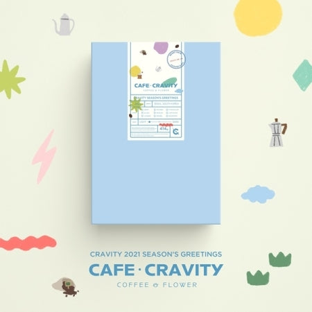 [Pre-Order] CRAVITY 2021 SEASON'S GREETINGS