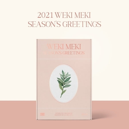 WEKI MEKI 2021 SEASON'S GREETINGS