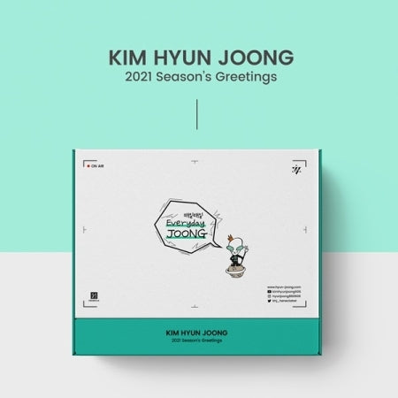 KIM HYUN JOONG 2021 SEASON'S GREETINGS [EVERYDAY JOONG]