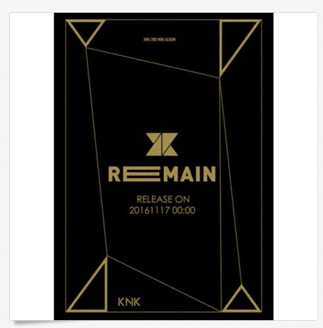 크나큰 KNK-[REMAIN] 2nd Mini Album