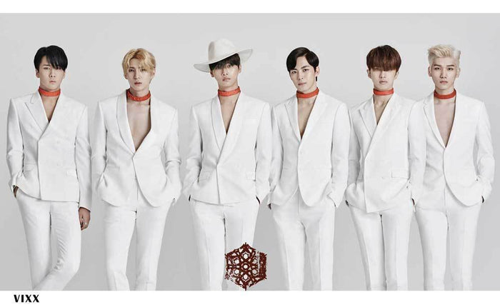 빅스 VIXX CHAINED UP POSTER ONLY