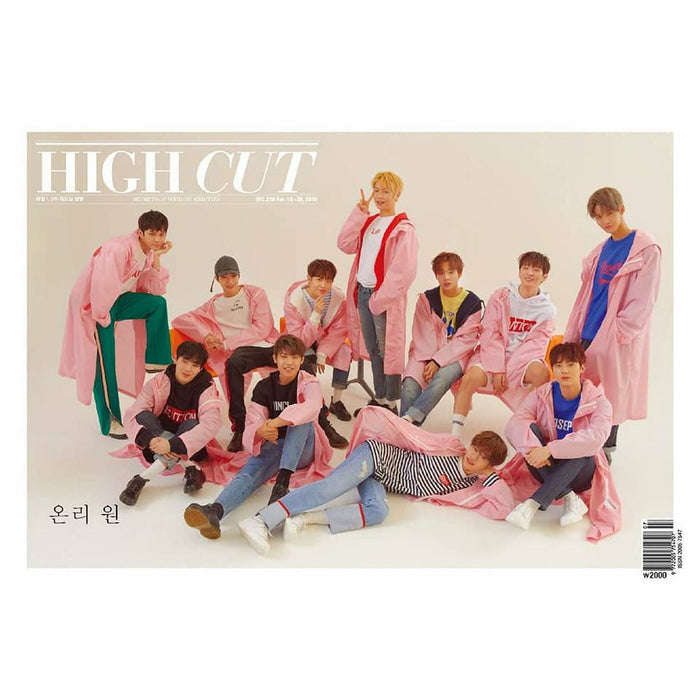 HIGH CUT NEWSPAPER Vol. 216 [WANNAONE] (B VER)