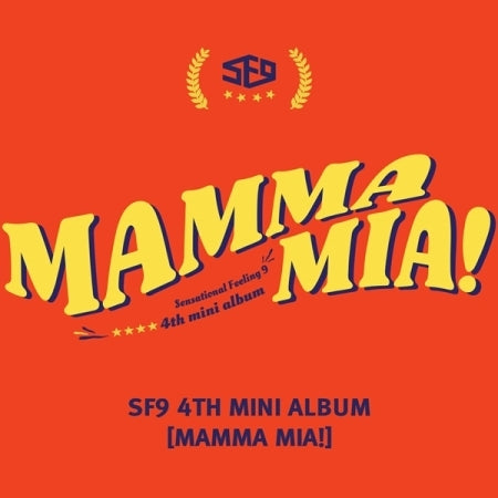 [Pre-Order] 에스에프나인 SF9 4TH MINI ALBUM- MAMMA MIA!