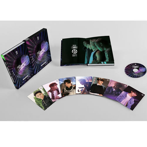 갓세븐 [GOT7] / FLIGHT LOG: TURBULENCE   MONOGRAPH (152P Photobook+DVD)  - Limited Edition