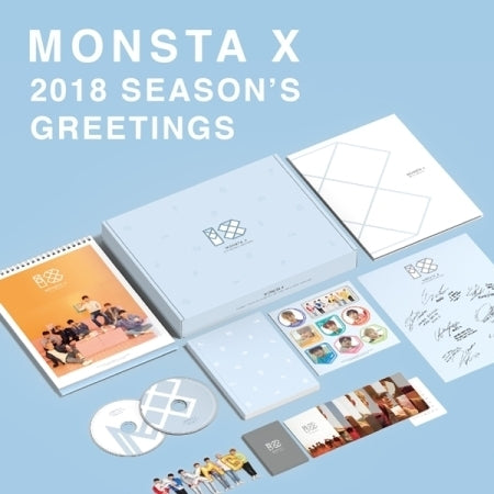 [Pre-Order] 몬스타엑스 MONSTA X - 2018 SEASON'S GREETINGS