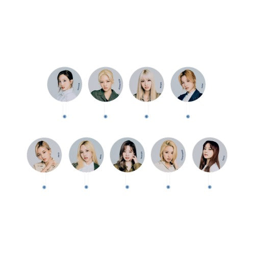 [Pre-Order] TWICE 2020 World in A Day Official Merchandise  - Image Picket Fan
