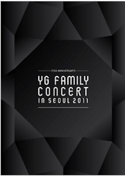 15th Anniversary 2011 YG Family Concert Live (3DVD + Photobook) (First Press Limited Edition) (Korea Version)