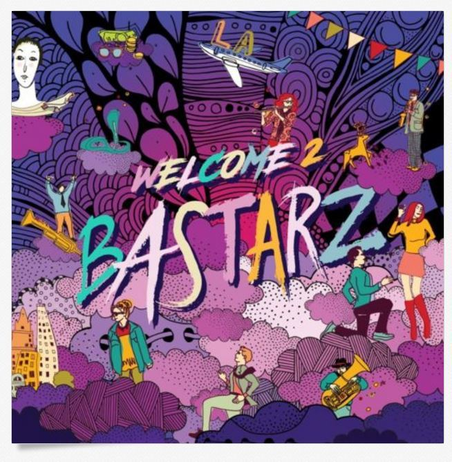 블락비 바스타즈  BLOCK B BASTARZ-2ND MINI  ALBUM  [WELCOME 2 BASTARZ]