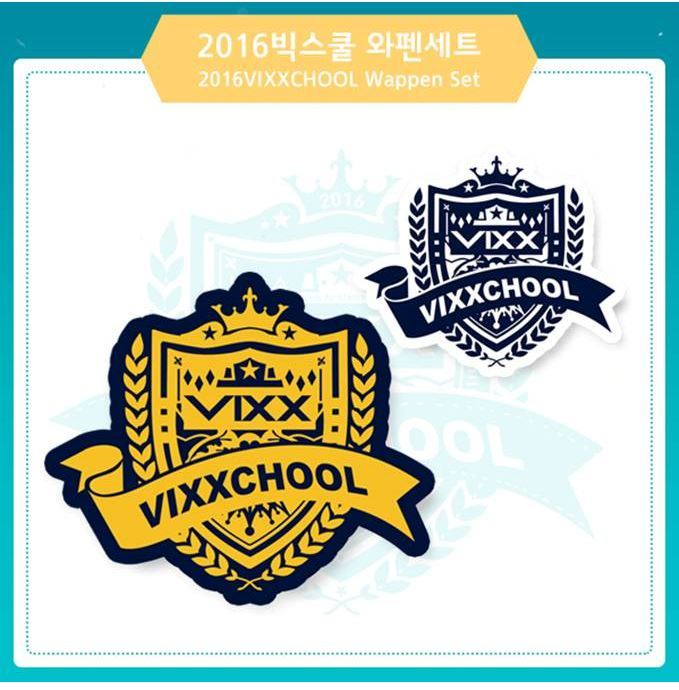 빅스 VIXX 2016 OFFICIAL  VIXXCHOOL  WAPPEN SET