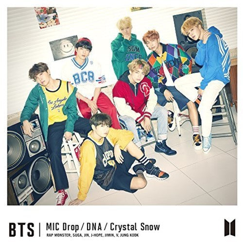 BTS Japanese Release - MIC Drop / DNA / Crystal Snow Version A
