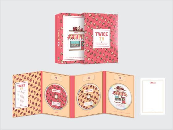트와이스      TWICE TV4  DVD