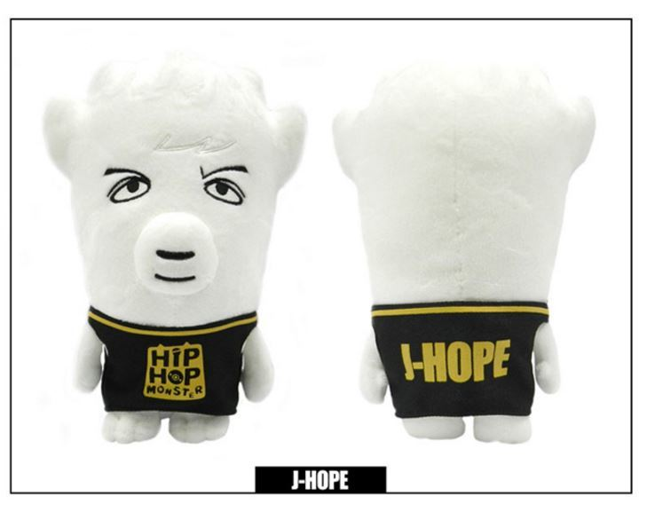 방탄소년단 BTS HIP HOP MOSTER STUFFY DOLL