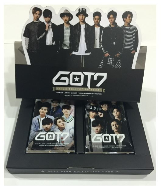GOT7  GOT 7 OFFICIAL STAR COLLECTION CARD SET