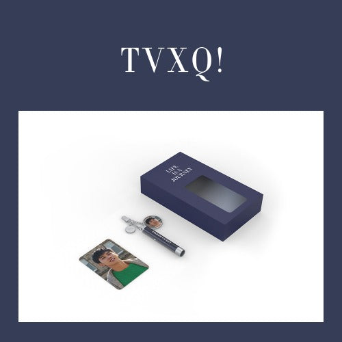 TVXQ Official Goods - Photo Projection Keyring