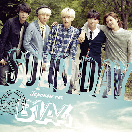 비원에이포 B1A4 - Solo Day (Japanese Album) (Korea Version)