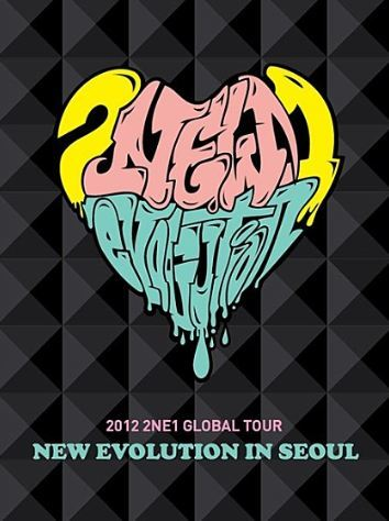 2NE1 - 2012 2NE1 Global Tour Live [New Evolution in Seoul] (DVD) (2-Disc) (Korea Version)