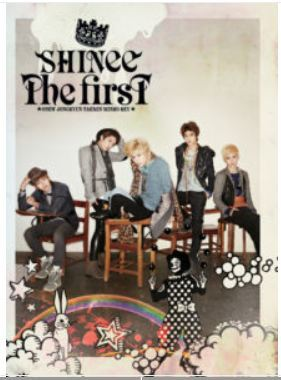 샤이니 SHINee THE FIRST JAPAN 1ST ALBUM