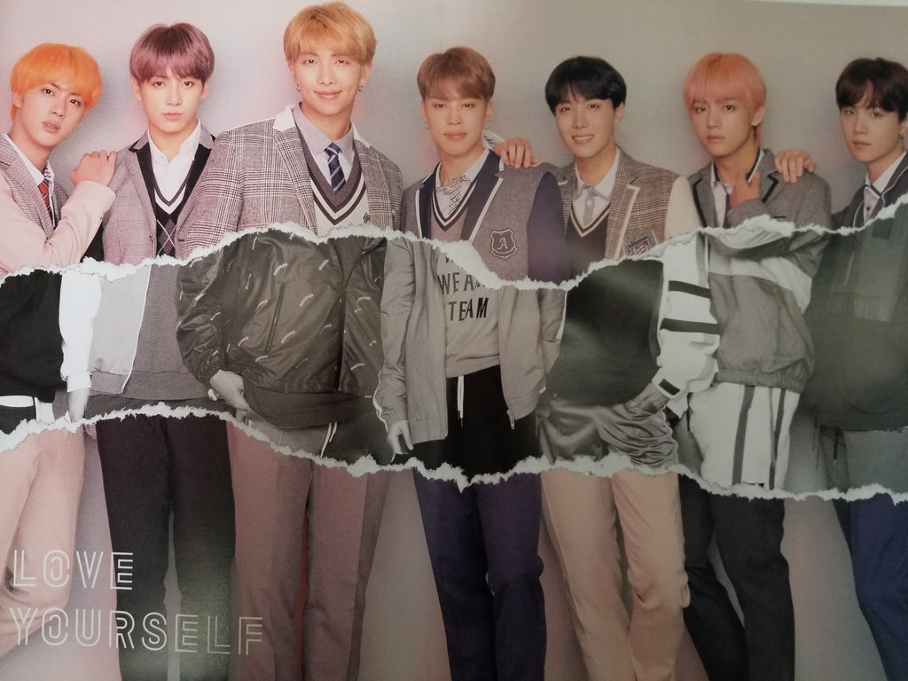 Bts Love Yourself 結 Answer Official Poster L Version Choice