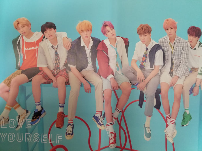 BTS LOVE YOURSELF 結 'ANSWER' OFFICIAL POSTER - F VERSION
