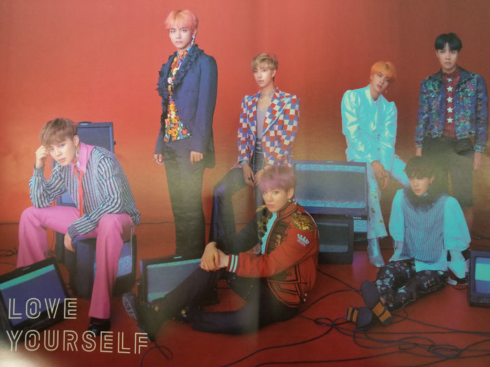 BTS LOVE YOURSELF 結 'ANSWER' OFFICIAL POSTER - S VERSION