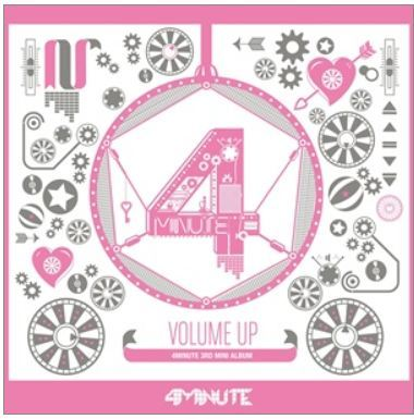 포미닛 4Minute Mini Album Vol. 3 - Volume Up