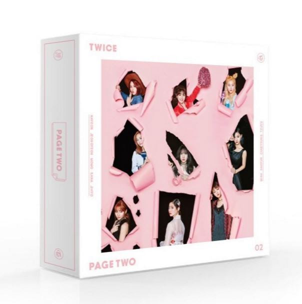 Twice 2nd Mini Album - Page Two