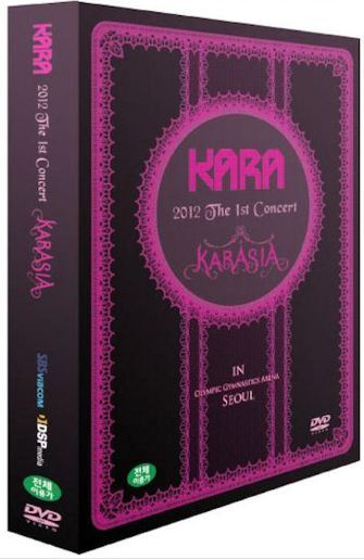 카라 Kara - 2012 The 1st Concert Karasia in Seoul Live (3DVD + Photobook) (Korea Version)