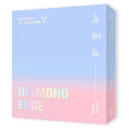 SEVENTEEN 1ST WORLD TOUR (DIAMOND EDGE IN SEOUL) CONCERT DVD