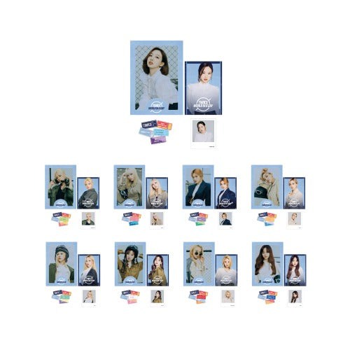 [Pre-Order] TWICE 2020 World in A Day Official Merchandise  - Photo Film Set