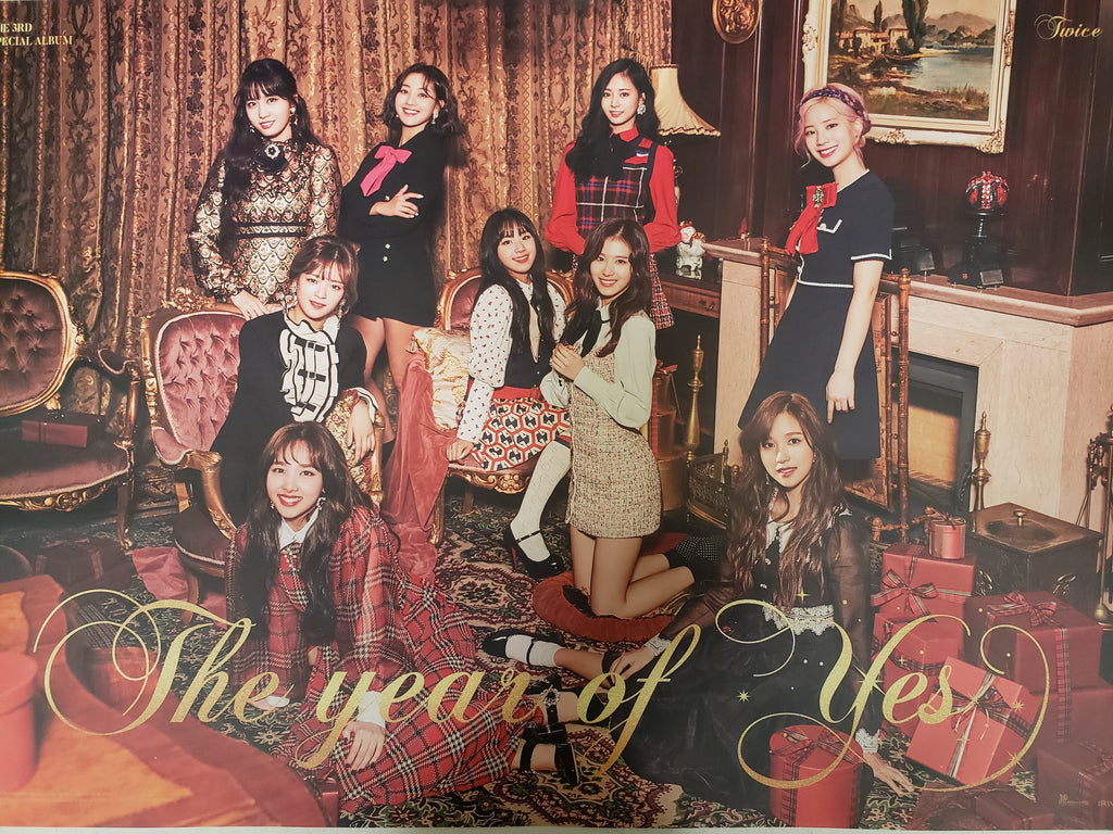 TWICE YEAR OF YES OFFICIAL POSTER