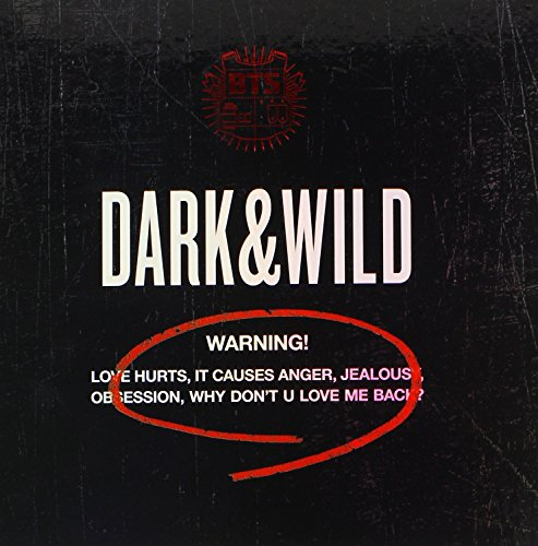 BTS 1st Album - Dark And Wild