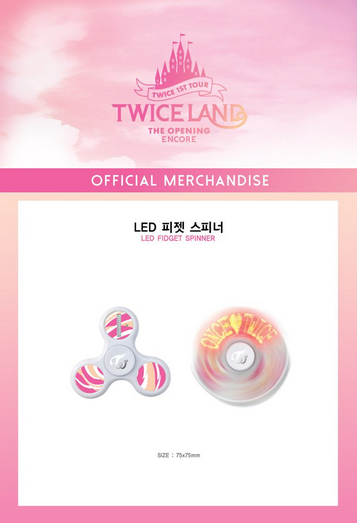 Twice Fidget Spinner [Twiceland Official Merchandise]