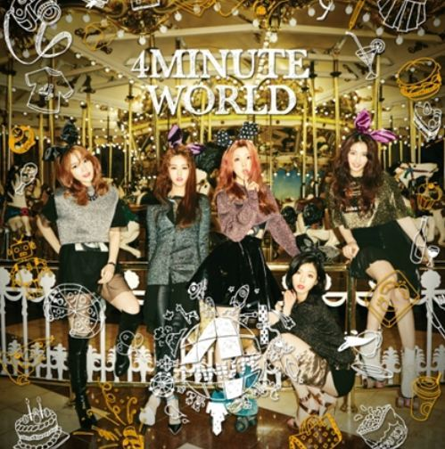 포미닛 4Minute Mini Album Vol. 5 - 4Minute World