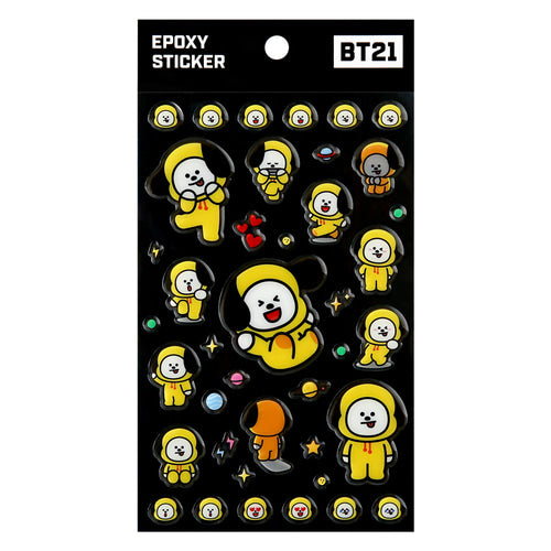 BT21 EPOXY STICKER