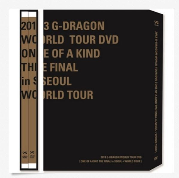 BIGBANG G-DRAGON DVD 2013 WORLD TOUR+ONE OF A KIND THE FINAL IN SEOUL 3 DISC