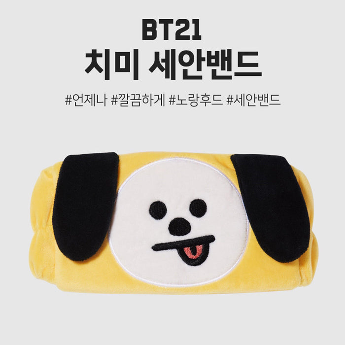 BT21 OFFICIAL GOODS - OFFICIAL CLEANSING BAND