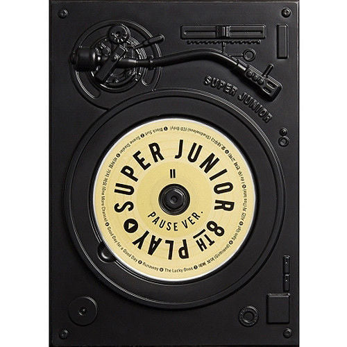 슈퍼주니어 SUPER JUNIOR [PLAY] 8th Album [PAUSE VER ]