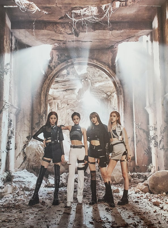 BLACKPINK KILL THIS LOVE OFFICIAL POSTER
