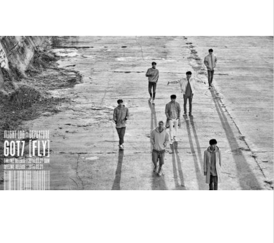 갓세븐 GOT7 - 5TH Mini Album [FLIGHT LOG : DEPARTURE]