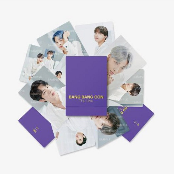 [Pre-Order] BTS BANGBANGCON The Live Official Merchandise - Mini Photocard