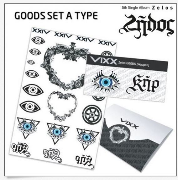 빅스 VIXX - VIXX ZELOS GOODS SET (A TYPE)