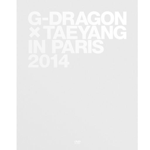 지드래곤&태양 G-Dragon X TaeYang in Paris 2014 + Photo Card (Special Gift) (First Press Limited Edition) (Korea Version)