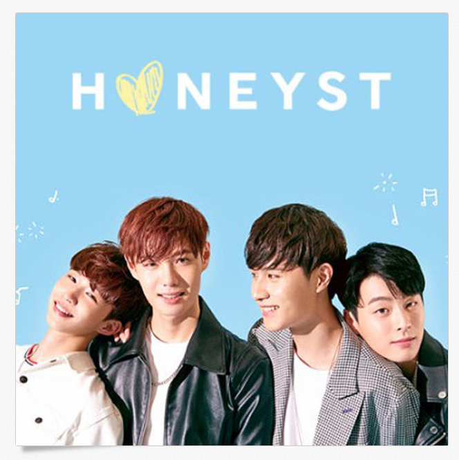 허니스트 HONEYST FIRST SINGLE ALBUM CD