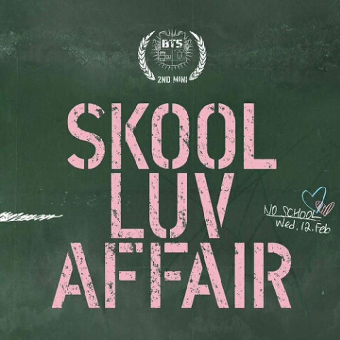 BTS 2nd Mini Album - Skool Luv Affair