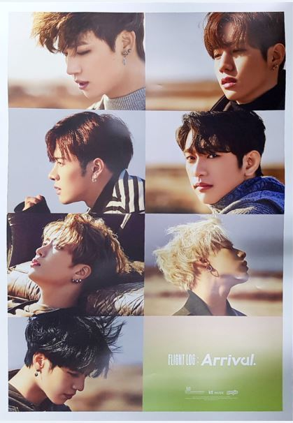 갓세븐 GOT7 - Arrival UNFOLDED POSTER (Ever Ver.)