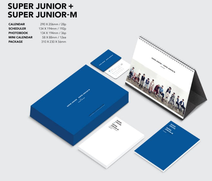 슈퍼주니어 + 슈퍼주니어-M Super Junior + Super Junior M - 2016 SEASON GREETING