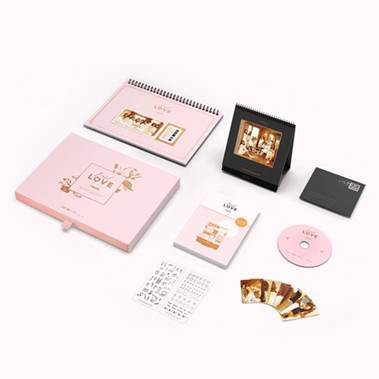 [Pre-Order] 트와이스 TWICE 2018 SEASON'S GREETINGS [FIRST LOVE]