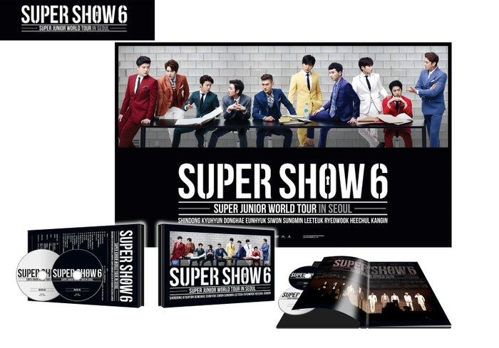 슈퍼주니어 Super Junior - World Tour in Seoul [Super Show6]