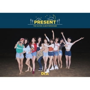 다이아 DIA 3RD MINI ALBUM REPACKAGE - PRESENT( GOOD NIGHT VER)