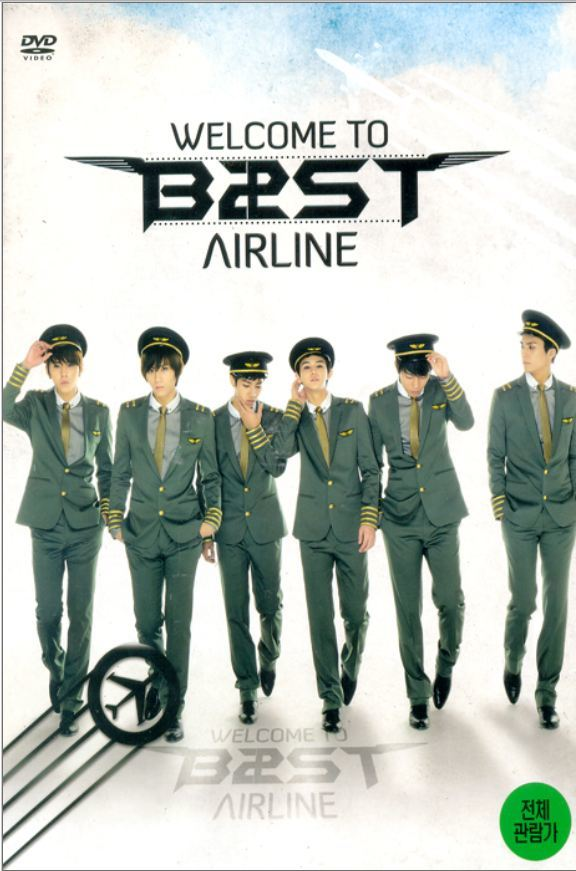 비스트 Beast 1st Concert-Welcome To Beast Airline